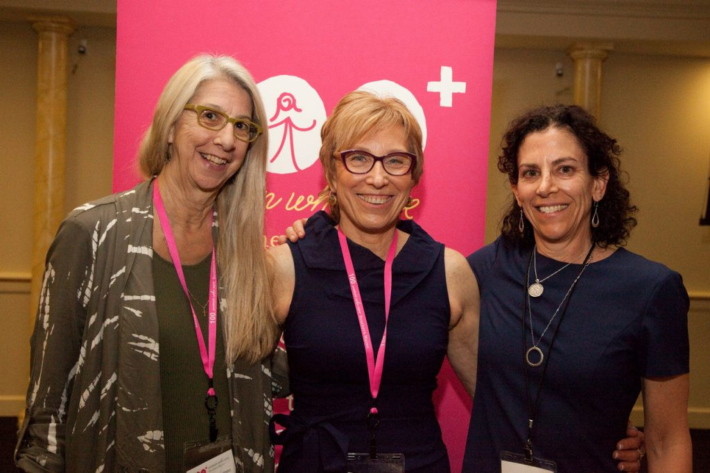 Jeanne Bartolomeo, Deb Bergeron and Melissa Tomback